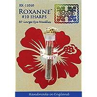 Colonial Ago Roxanne Sharps mano Aghi-Taglia 10, confezione da 50
