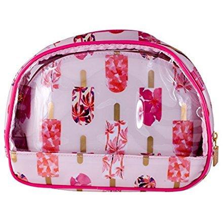 Danielle Creations Rose Sucettes transparente ovale de voyage avec petite ovale