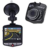 LANKA® Full HD 1080P Car Dash Cam Dashboard Camera DVR Video & Audio driving Recorder with 32GB Micro SD Card (Black)