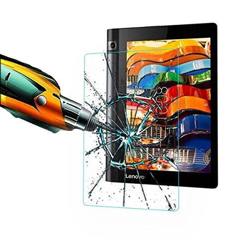 Taslar(TM) Premium Arc Edge Tempered Glass Screen Scratch Guard Protector for Lenovo Yoga Tab 3 8 Tablet 8 inch