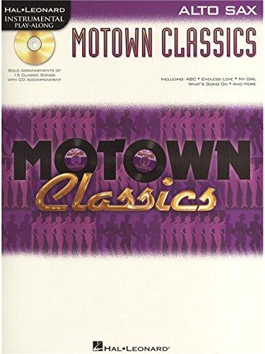 Instrumental Play-Along: Motown Classics - Alto Saxophone. Für Alt-Saxophon