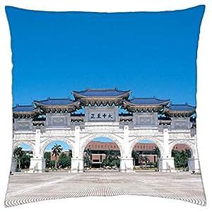 Taiwan Taipei - Throw Pillow Cover Case (18