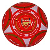 Arsenal FC Official Star Crest Size 5 Football