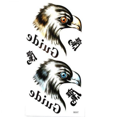 faux tatouages olécrane forte étanche tête d'aigle