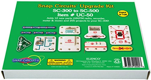Snap Schaltungen SC-300zu sc-500 Upgrade Kit (Mehrfarbig) (Snap Elektronik Kit)