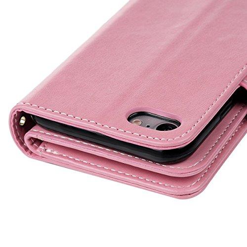 Handy-zubehör Apple Iphone Cover Schutzhülle Wallet Handytasche Flipcase Etui Leder Synthetisc Weich Und Leicht