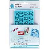 Martha Stewart Martha Stewart Crafter's Clay Silicone Mold 1/Pkg-Alphabet,  Other,  Multicoloured