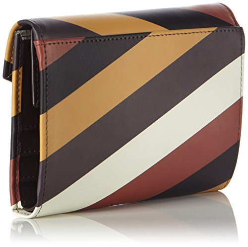 Tosca Blu - Portafoglio Donna,  15x10x3 cm (B x H x T) Multicolore (DARK BROWN/MULTICOLOR 60R)