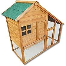 Casa para roedores, jaula para conejo, gallinero casa de mascota, casa con cerramiento para andar libre.