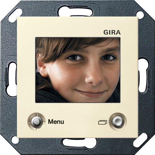 Preisvergleich Produktbild Gira 128601 TFT-Farbdisplay System 55 cremeweiß glänzend