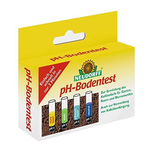 Boden Ph-tests Von (Neudorff pH-Bodentest, zur Ermittlung des Boden-pH-Wertes, des Kalkbedarfs 8 Tests im Set)