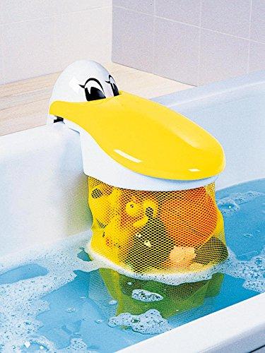 Coffre à Jouets filet de bain pélican Babysun