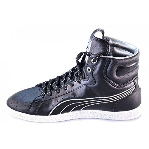 Puma - Puma scarpe uomo donna basket nere Noir