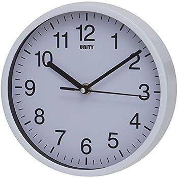 Blue Silent Quartz Movements White 20 cm Ikea Stomma Wall Clock