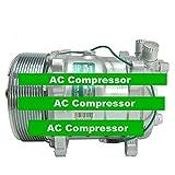Gowe Klimaanlage Kompressor für sd508Sanden 508Stil A/C Klimaanlage Kompressor Serpentine Riemenscheibe chrom PV1024V