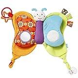 Fehn 70354 Babyspielzeug Schmusetuch Schmetterling