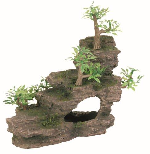 trixie-8852-felsentreppe-mit-pflanzen-19-cm