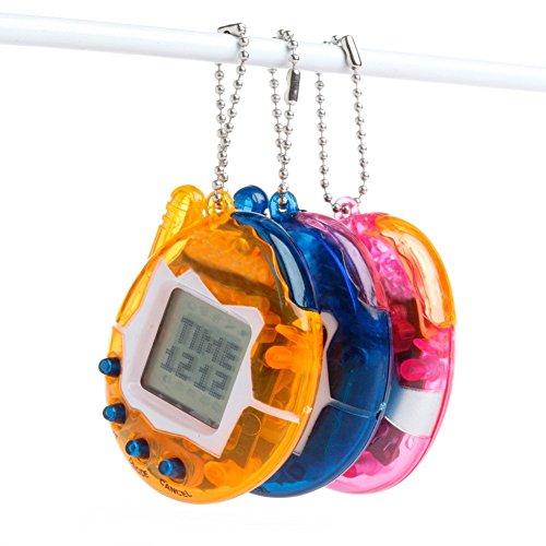 es Haustiere In Einem Schlüsselanhänger 90s Nostalgische 49 Miniatur Virtuellen Spielzeug Lustige Weihnachtsgeschenk Random (Virtuelle Halloween)