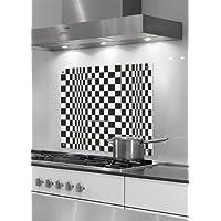 Paraschizzi - Pannello in vetro di protezione per cucina (cristallo