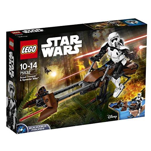 Preisvergleich Produktbild LEGO Star Wars 75532 - Scout Trooper und Speeder Bike, Baufigur
