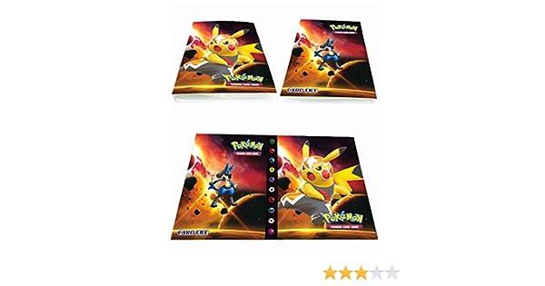 Ottimo film PIKAQIU Porta carte Pokemon Album Cartella Raccoglitore Libro 30 pagine 240 Capacit/à di carte