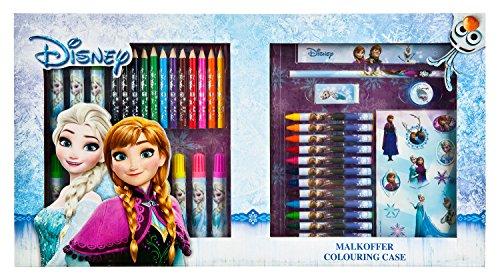 Undercover FRZH4181 - Malkoffer, Disney Frozen, 62-teilig