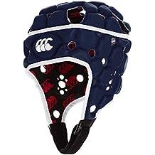 Canterbury Vapodri de los niños Raze Flex Chaleco–Casco protector de rugby, Infantil, color azul marino, tamaño medium