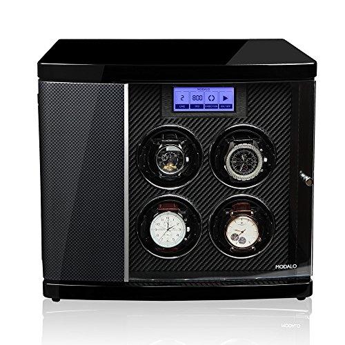 Modalo Timeless MV3 Uhrenbeweger für 4 Automatikuhren + 2 Ablagen in carbon 3004883 - 4