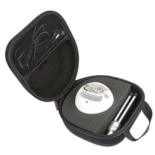 Khanka EVA Borsa da viaggio Custodia caso scatola per Blue Microphones Snowball iCE Microfono Condensatore Cardioide