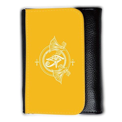 Portemonnaie Geldbörse Brieftasche mit // Q09910602 Religion 31 Bernstein // Medium Size Wallet (Herren-geldbörsen Bernstein)