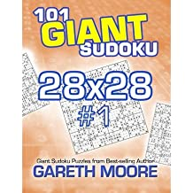 Moore, Gareth [ 101 Giant Sudoku 28x28 #1 ] [ 101 GIANT SUDOKU 28X28 #1 ] Jul - 2013 { Paperback }