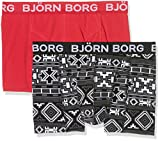 Björn Borg Herren Boxershorts Shorts, Bb Native Knit, 2-P, Grey (Castlerock), M