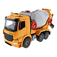 IPOTCH 1:18 Agitating Lorry Model Simulation Cement Mixer Truck Boy Contruction Toy