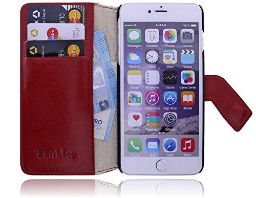 Burkley étui de protection en cuir pour apple iPhone 6 plus/iPhone plus (5,5