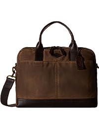Fossil Canvas Brown Messenger Bag (MBG9243200)