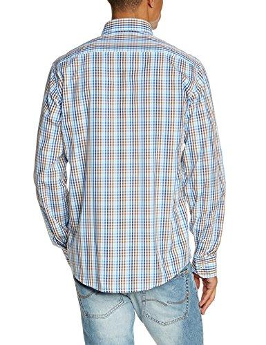 CASAMODA Herren Regular Fit Freizeithemd 442042400-200 Braun (braun 200)