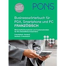 PONS Businesswörterbuch für PDA, Smartphone und PC Französisch