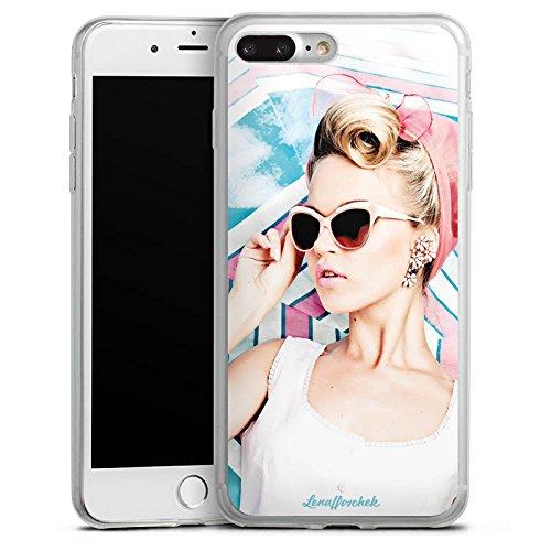 Apple iPhone 8 Slim Case Silikon Hülle Schutzhülle Lena Hoschek Spring Summer Trend 2016 Fashionweek Silikon Slim Case transparent
