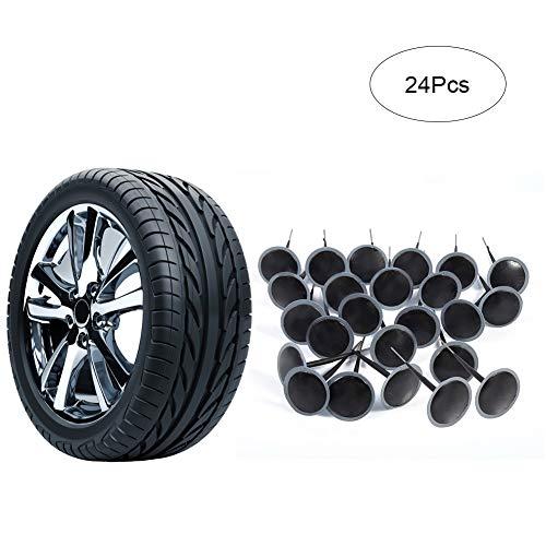 Pilzförmige Nadelstecker zur Reparatur von Reifen für Auto / Motorrad / Fahrrad / LKW, 24 Stück, 6 mm