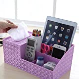 #6: Srxes desk organizer for stationary for office and remote stand cosmetic organizer