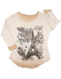 Suchergebnis auf für: glitzer shirt damen: Bekleidung