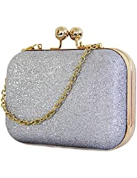 Vezela Bling Purses Grape Hard Case Clutches for Women - Super Stylish Clutches for Girls - gift for your valentine