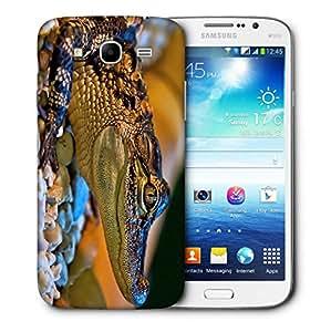 Snoogg Baby Aligator Designer Protective Back Case Cover For Samsung Galaxy Mega 5.8