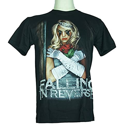Falling in Reverse (The Drug In Me Is You) Large Size L Nuovo. Maglietta 1352