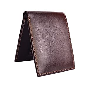 Alpine Huben Brown Men's Bi Fold Wallet