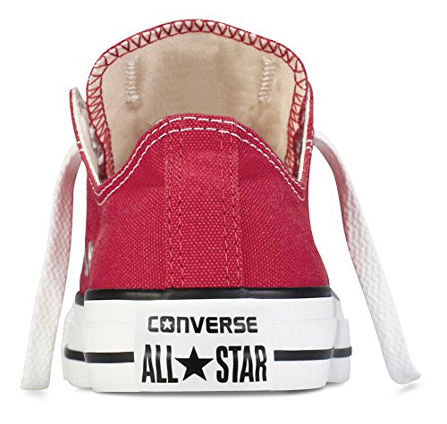 Converse AS Ox Can red M9696 Unisex-Erwachsene Sneaker, Rot (red), EU 42(US 8.5) - 8