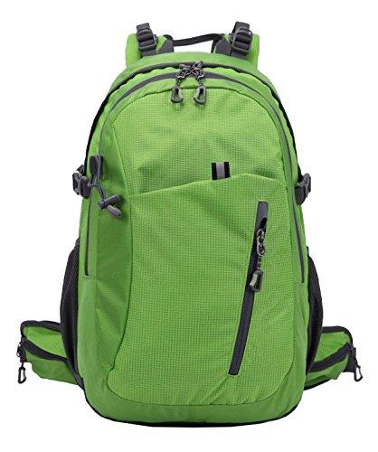 Zaino Professionale Alpinismo Xin.S28L Impermeabile Zaino Da Arrampicata All'aperto Zaino Da Viaggio Grande Pacchetto Giornata Di Svago Zaino Universitario Borsa A Tracolla. 3 Colori Green