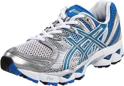 Asics Gel-Nimbus 12 Womens Gray Mesh Running Shoes Size UK