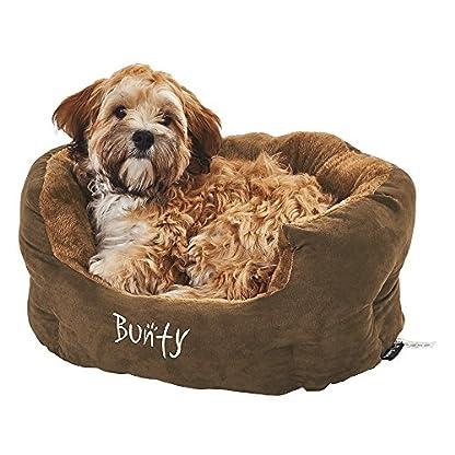 Bunty Polar Dog Pet Bed, Soft Cosy Fleece Fur Warm Cushion Basket, Machine Washable, High Sided, Cat, Small Animal… 6