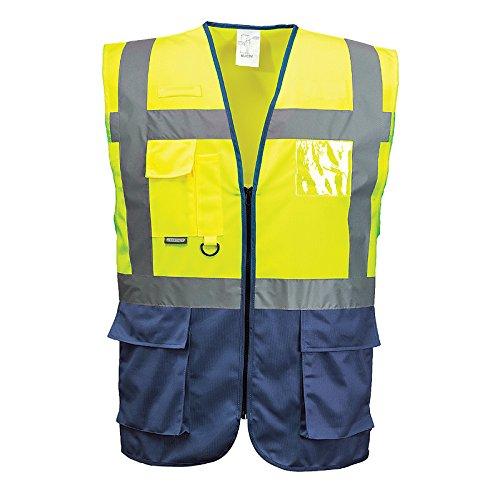 portwest-herren-hi-vis-weste-sicherheitsweste-m-gelb-blau